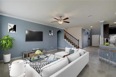 Buda Single Family Home For Sale: 128 Red Morganite Trl