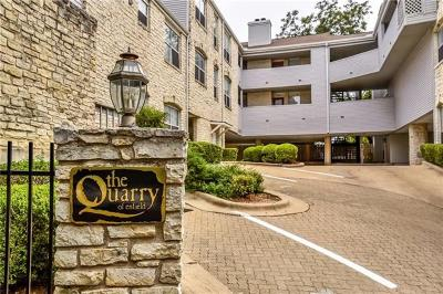 Condo/Townhouse Pending - Taking Backups: 2520 Quarry Rd #202