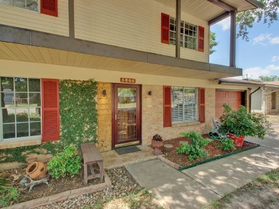 Travis County Single Family Home Pending - Taking Backups: 5806 Gloucester Ln