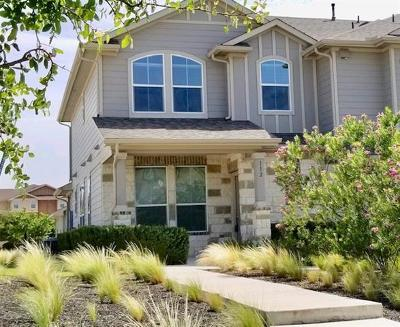 Pflugerville Condo/Townhouse For Sale: 112 Adage Dr