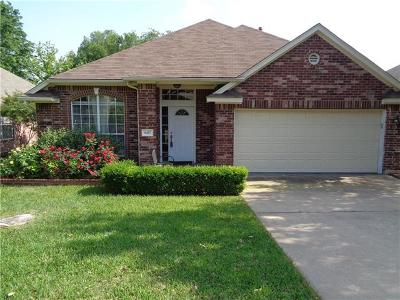 Round Rock Single Family Home Pending - Taking Backups: 8417 Jackal Dr