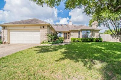 Kyle Single Family Home Active Contingent: 500 Buttercup Cir