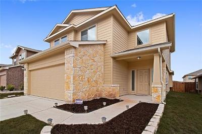 Manor Single Family Home Pending - Taking Backups: 12112 Walter Vaughn Dr
