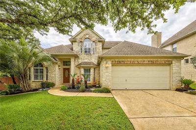 Austin Single Family Home Pending - Taking Backups: 12701 Oxen Way