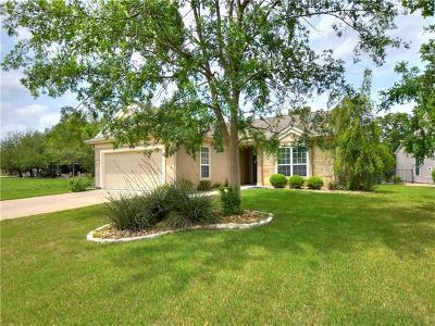 Georgetown Single Family Home Pending - Taking Backups: 910 Lindero Pass
