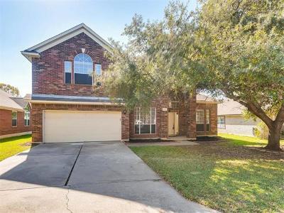 Austin Single Family Home For Sale: 3013 Foxton Cv