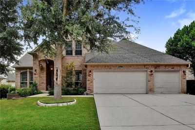 Cedar Park Single Family Home For Sale: 2611 Moray Ln