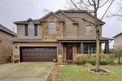 Pflugerville Single Family Home For Sale: 2409 Pauma Valley Way
