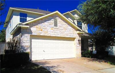 Round Rock Single Family Home For Sale: 324 Hidden Brook Ln