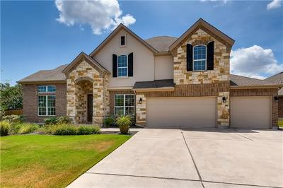 Travis County Single Family Home Pending - Taking Backups: 8715 Vantage Point Dr