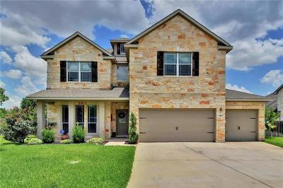 Round Rock Single Family Home For Sale: 4401 Angelico Ln