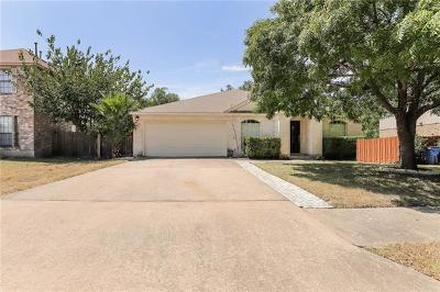 Pflugerville Single Family Home For Sale: 714 Camp Fire Trl