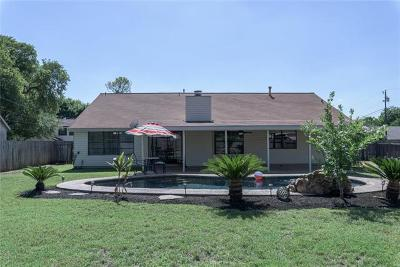 Round Rock Single Family Home Pending - Taking Backups: 2205 Creekview Dr