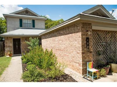Leander Single Family Home Pending - Taking Backups: 1003 Eagles Way