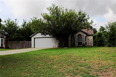 Killeen Single Family Home For Sale: 1906 Sumac Dr