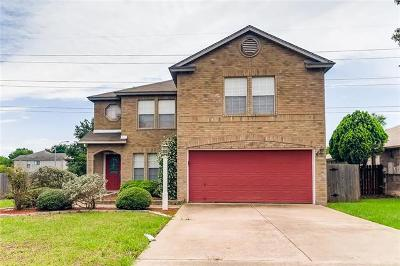 Round Rock Single Family Home For Sale: 1101 Sheltie Ln