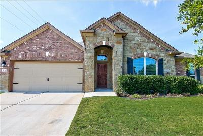 Round Rock Single Family Home For Sale: 805 Boone Valley Dr