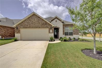 Round Rock Single Family Home For Sale: 3417 De Soto Loop