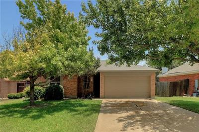 Cedar Park Single Family Home For Sale: 2002 E Gann Hill Dr
