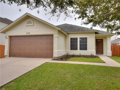 Single Family Home For Sale: 6521 Tara Dr