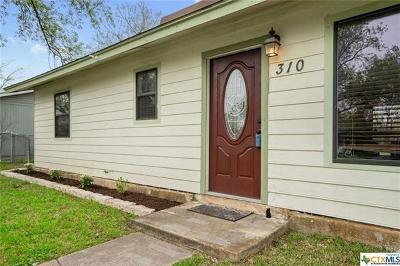 San Marcos Single Family Home For Sale: 310 Magnolia St