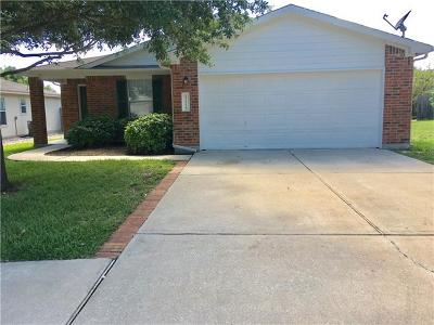 Pflugerville Single Family Home For Sale: 17114 Simsbrook Dr