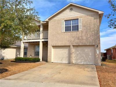 Buda Single Family Home For Sale: 396 Feathergrass Dr