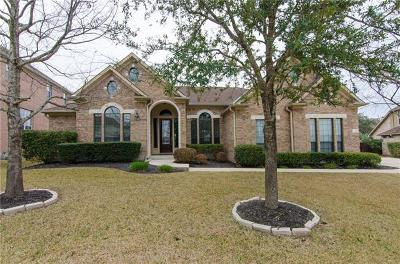 Cedar Park Single Family Home Pending - Taking Backups: 3112 Castellano Way