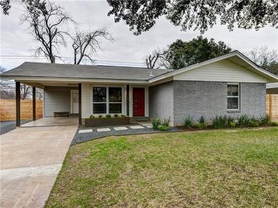 Travis County Single Family Home For Sale: 1508 Weyford Dr