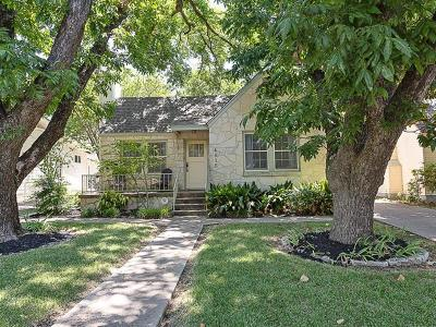 Travis County Single Family Home Pending - Taking Backups: 4515 Rosedale Ave
