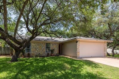 Cedar Park Single Family Home Pending - Taking Backups: 405 Edgewood Cir