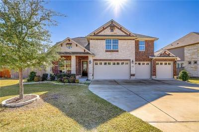Hays County, Travis County, Williamson County Single Family Home For Sale: 4539 Miraval Loop