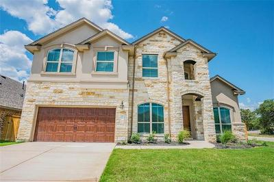 Round Rock Single Family Home For Sale: 3700 Kirby Cv