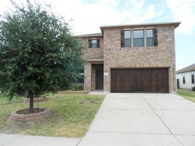 Round Rock Single Family Home For Sale: 1616 Bayland St