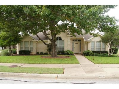Pflugerville Single Family Home For Sale: 1000 Rocky Creek Dr