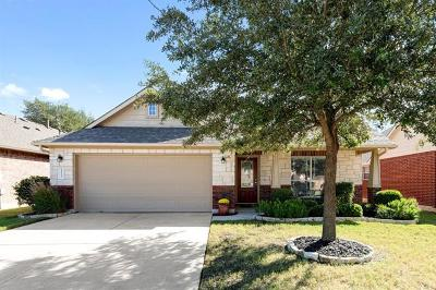 Leander Single Family Home For Sale: 2512 Ericanna Ln