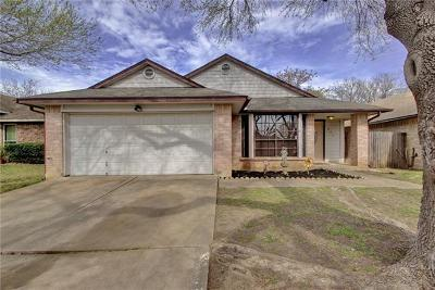 Round Rock Single Family Home For Sale: 804 Saunders Dr
