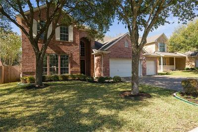Cedar Park Single Family Home For Sale: 1501 Pagedale Dr