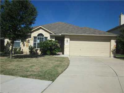 Hutto Rental For Rent: 133 Gainer Dr