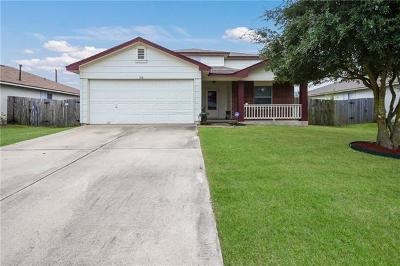 Hutto Single Family Home For Sale: 318 Stewart Dr