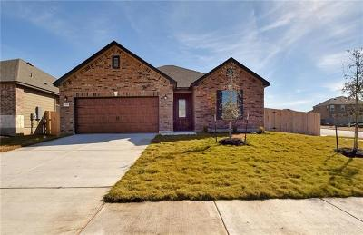 Manor Single Family Home For Sale: 13701 Montpelier