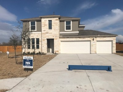 Hutto Single Family Home For Sale: 6009 Malta Circle