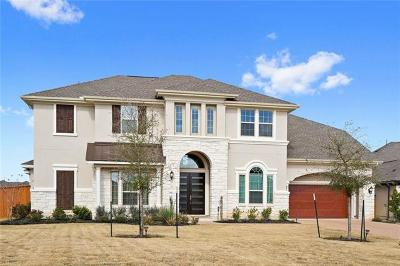 Leander Single Family Home Active Contingent: 2529 Rifleman Cv