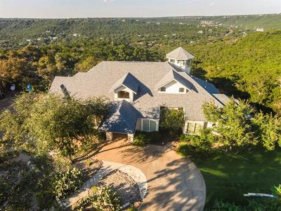 Austin Single Family Home For Sale: 8000 Two Coves Dr
