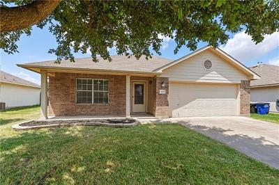 Hutto Single Family Home Pending - Taking Backups: 104 Emma Lynn Ln
