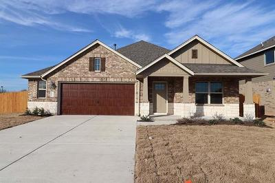 Hutto Single Family Home For Sale: 1006 Guernsey Cv