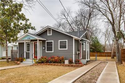 Austin Single Family Home Pending - Taking Backups: 1709 Payne Ave