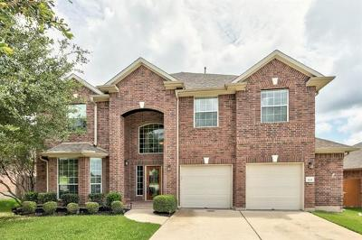Round Rock TX Single Family Home Pending - Taking Backups: $399,000