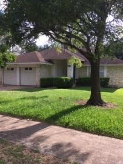 Single Family Home For Sale: 6400 Steer Trl