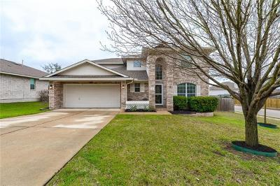 Leander Single Family Home For Sale: 2416 Granite Creek Dr